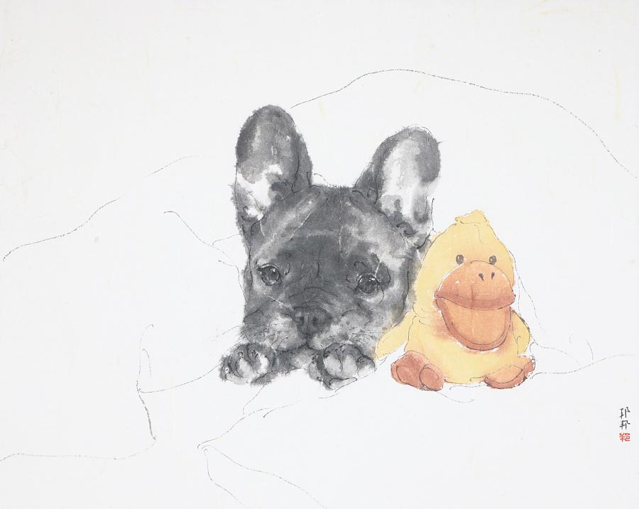 查看《狗狗系列作品》原图,原图尺寸:3688x2939