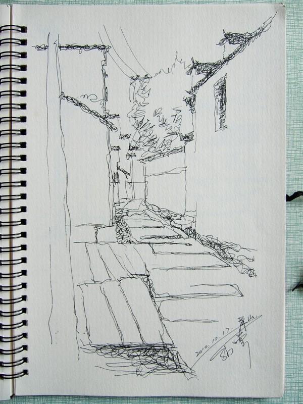 大學時期皖南風景寫生(37p)|純藝術|速寫|sunuy