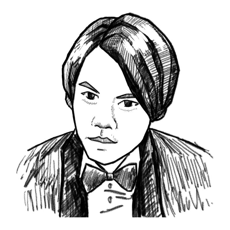 原创手绘【人物头像素描】