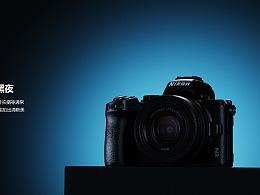 尼康Z50微单相机渲染
