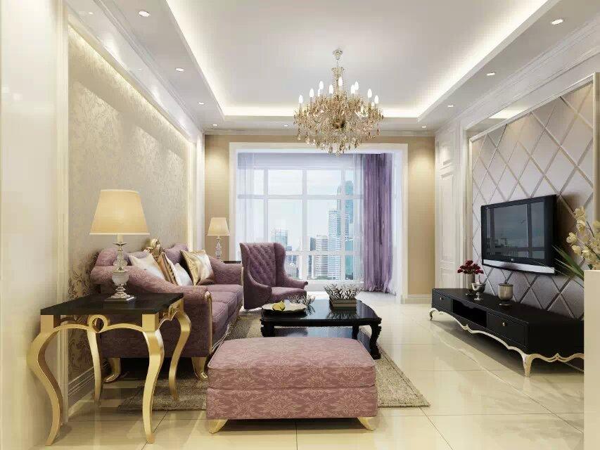 一套简洁的欧式室内设计|室内设计|空间/建筑|windy