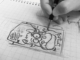 卡通动物形象食品包装