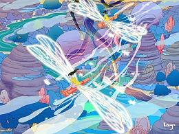 蜻蜓记 & 舞彩石 & 玫瑰星球