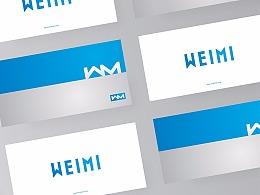 微米测量品牌形象视觉