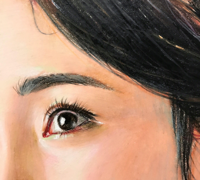 子小伟彩铅手绘三生三世十里桃花夜华和白浅