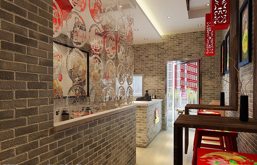 龙泉特色烧烤店装修设计