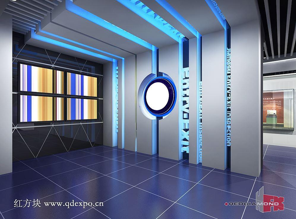 集团组态设计企业|方案企业文化建设多功技术设计展厅设计展厅图片
