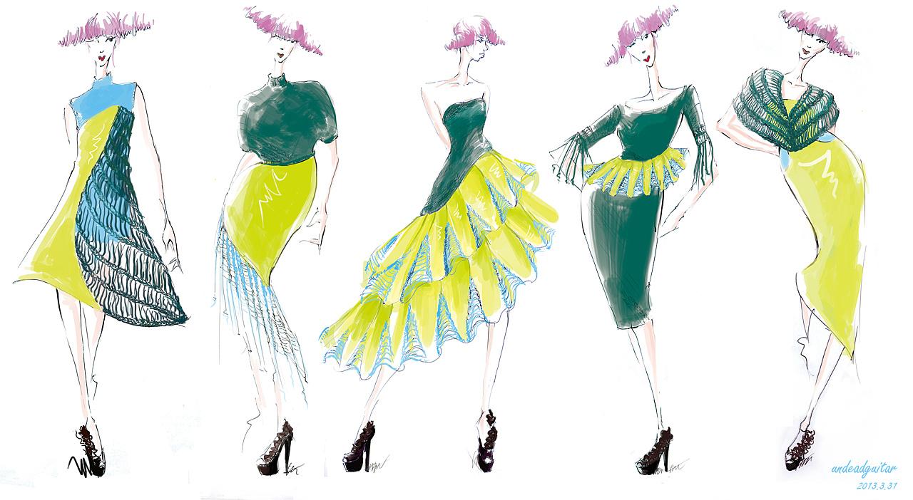 针织设计|服装|正装/礼服|undeadguitar - 原创作品