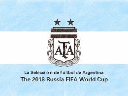 2018年世界杯绘画系列——巡礼潘帕斯雄鹰阿根廷队