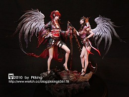 台湾原型师PKking《九天衡》系列作品——晓微·丽姬
