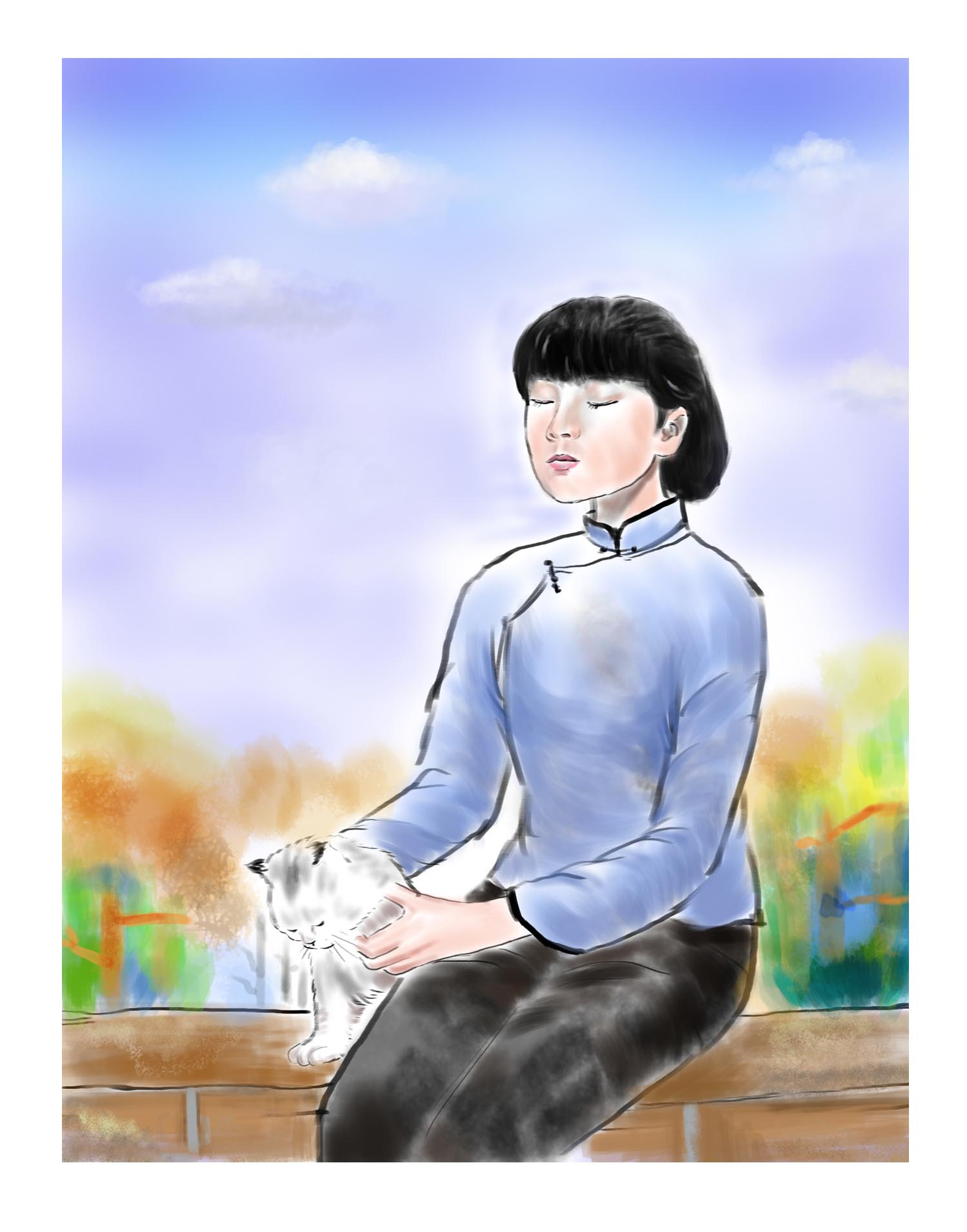 《繁星春水》插图|插画|商业插画|西安妙笔 - 原创图片