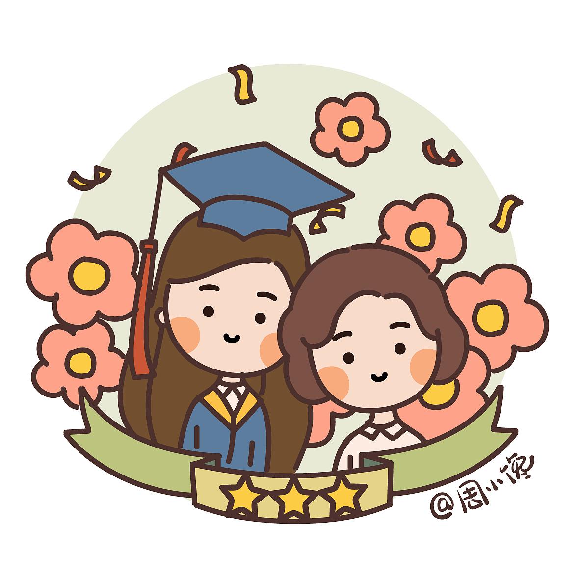 周小馋萌漫 母亲节漫画图片