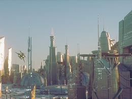 进阶项目——C4D+Octane制作大型未来科幻城市场景+渲染
