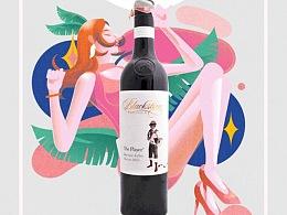 Aldi 奥乐齐 天猫酒水节social传播动态海报设计