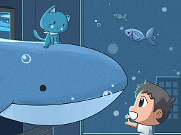 《小乐成长记》二十四节气 处暑 鲸鱼