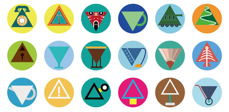 图形创意-三角形图片
