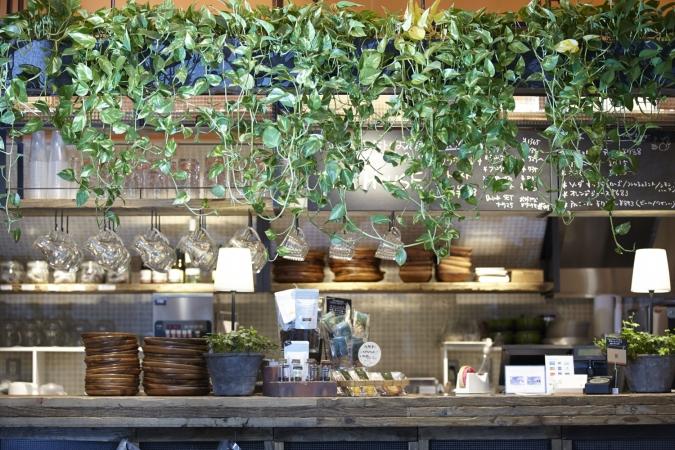 德阳专业咖啡厅装修设计-《成都花园咖啡背景电视墙立面设计图图片