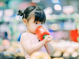 夏日的超级市场