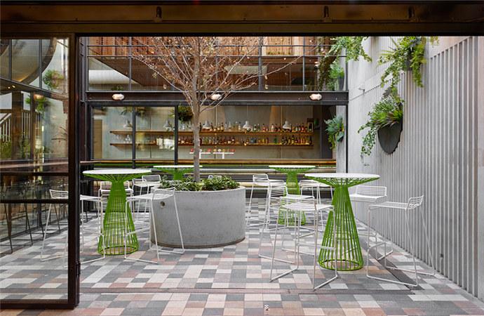 现在夕厅设计图-花夕餐厅装修设计案例-普洱专业特色餐厅装修设计公司   餐厅的主题与
