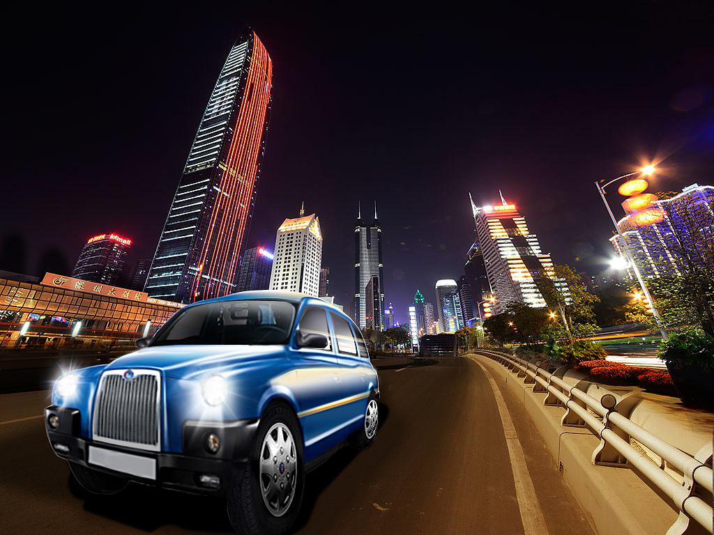英伦汽车——北京站,青岛站,哈尔滨站,南京站,深圳站海报及封面设计