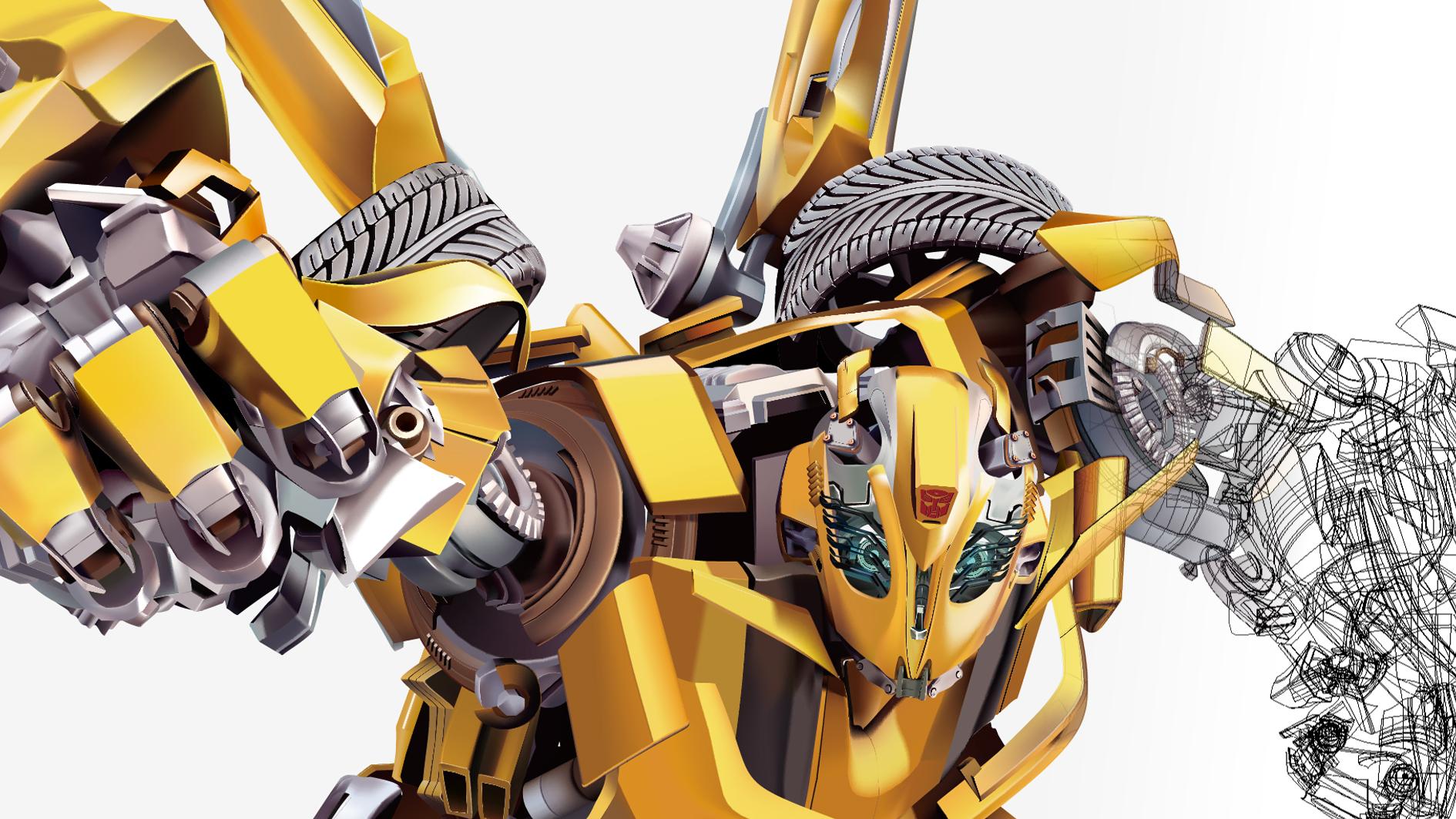 变形金刚-大黄蜂