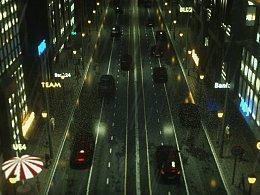 城市街道C4D/OC渲染  (附带图文教程,看完你也可以)