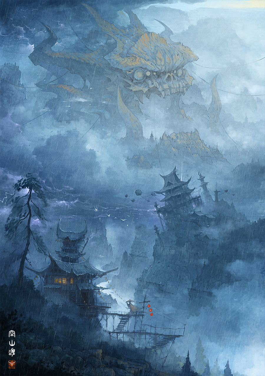 查看《出云志-空山颂》原图,原图尺寸:1000x1415