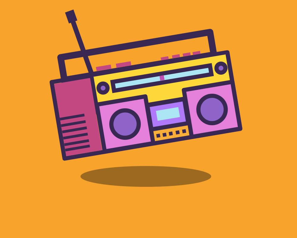 卡通录音机|ui|app界面|小丸子要开电影院 - 原创作品