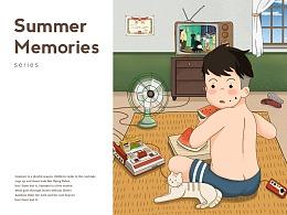 夏天里的童年