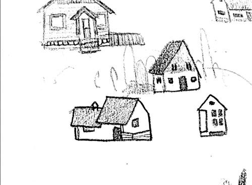 小女孩和小房子