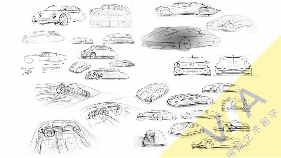 皇家艺术学院汽车设计张天野作品集va展示图片