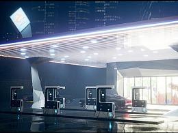 【虚幻4】后现代科技 充电站
