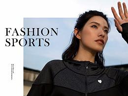 Fashion Sports 商业摄影排版