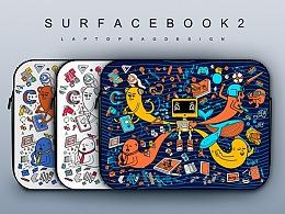 巨匠来袭 为 Surface book 2 画一个骚包包