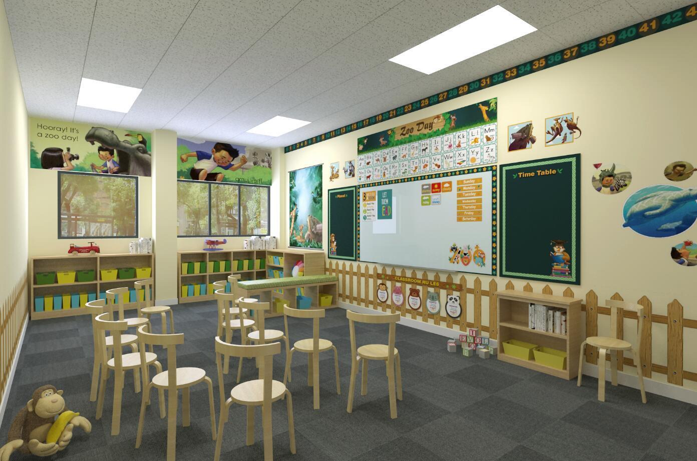 动物园主题教室设计