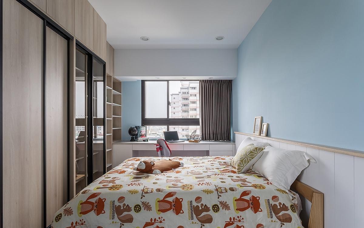 郑州专业别墅设计工作室-北欧风休闲大平层别墅设计图图片