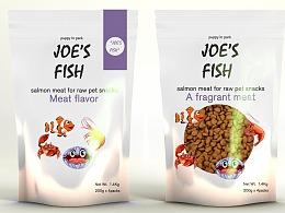 海鲜味宠物零食包装设计