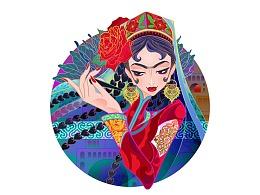 乌斯玛生眉草-描眉姑娘-新疆特产,礼品首选