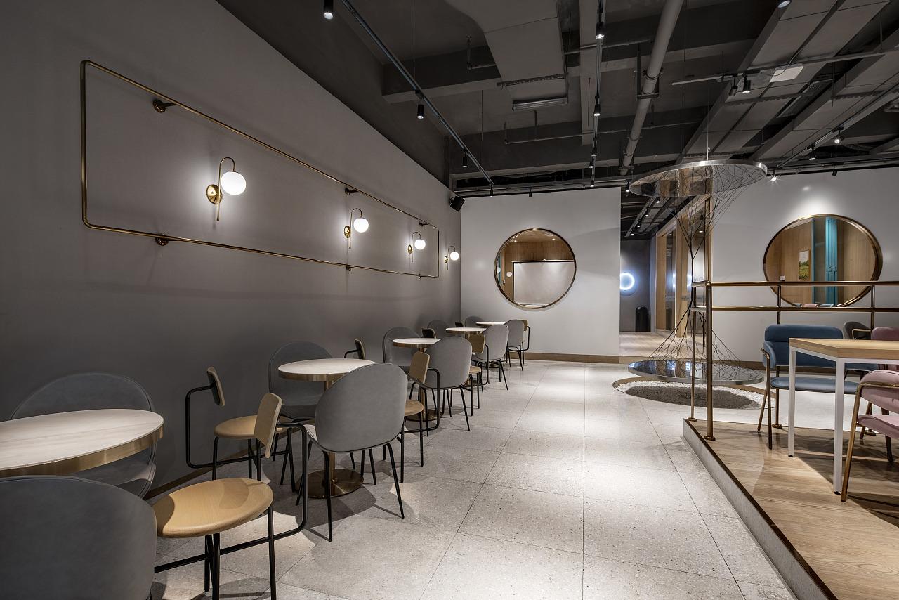 饮品/烘培品牌 · 餐饮空间设计_BOOMO不陌 深圳车公庙店