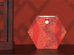 中秋旗袍礼盒