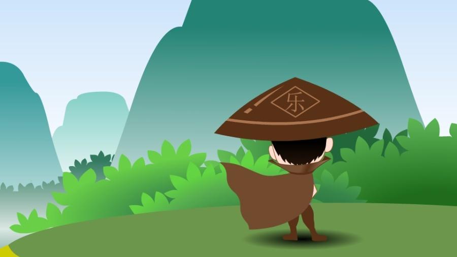 一个大侠动画片--江湖漫画小乐(商业之灵)|单幅戟之友食妇女图片