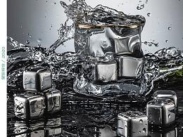 不锈钢冰块 | 静物产品 | 夏季冰饮伴侣