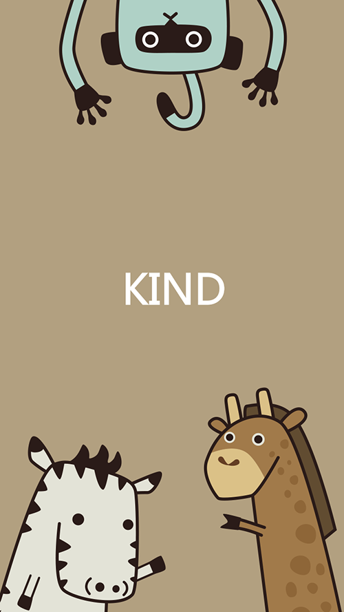 社交app·卡通形象设计·等一