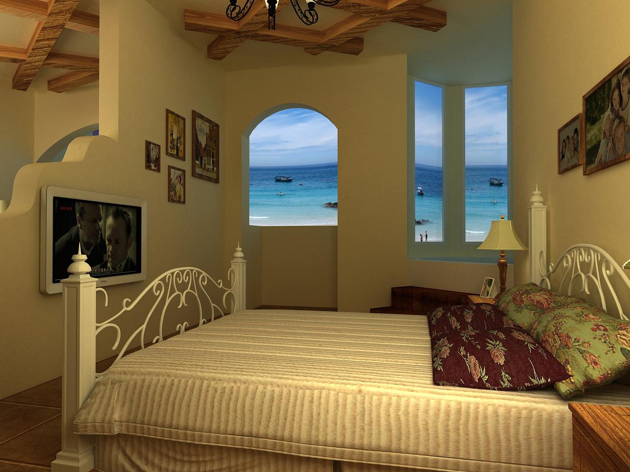 室内设计 空间设计 地中海
