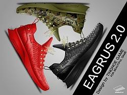 "TINGNOE GAME ""EAGRUS 2.0"" Sneaker."