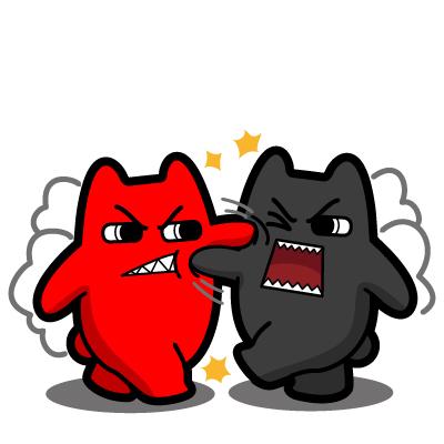 20|网络表情|动漫|魔鬼猫图片