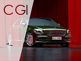 CGI Mercedes-Benz S MAYBACH