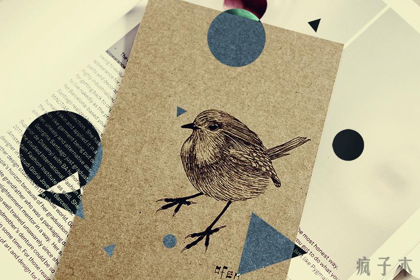 鸟~手绘明信片(部分)