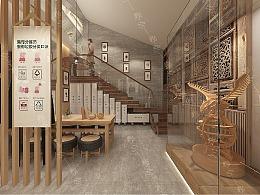 某村垃圾分类文化展馆原创设计