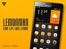 联想手机主题·lenmonman